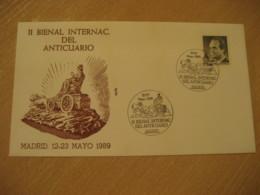 MADRID 1989 Anticuario Antique Dealer Antiquaire Cancel Cover SPAIN Archeology Archeologie - Archäologie