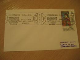 MADRID 1983 Feriarte Anticuario Antique Dealer Antiquaire Cancel Cover SPAIN Archeology Archeologie - Archäologie