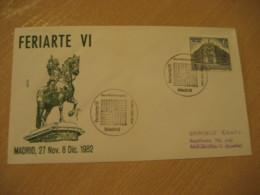MADRID 1982 Feriarte Anticuario Antique Dealer Antiquaire Cancel Cover SPAIN Archeology Archeologie - Archäologie