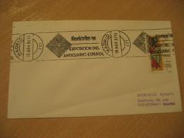 MADRID 1982 Feriarte Expo Anticuario Antique Dealer Antiquaire Cancel Cover SPAIN Archeology Archeologie - Archäologie