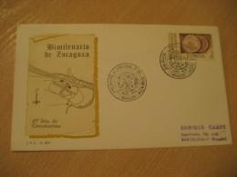 ZARAGOZA 1976 Bimilenario Cancel Cover SPAIN Archeology Archeologie - Archäologie
