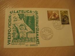 SANTA COLOMA DE GRAMANET 1962 Primeros Pobladores Cancel Cover SPAIN Archeology Archeologie - Archäologie