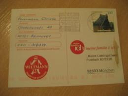 HANNOVER 2000 Agypten Pharaonen Egypt Museum Cancel Card GERMANY Archeology Archeologie - Archäologie