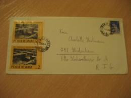 BAILE FELIX Bad 1976 Orobeta Turnu Severin Eurpeism Stamps On Cancel Cover ROMANIA Archeology Archeologie - Archäologie