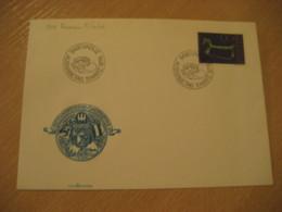 VADUZ 1976 Yvert 591 Roman Fibule FDC Cancel Cover LIECHTENSTEIN Archeology Archeologie - Archäologie