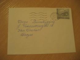 TORSHAVN 1982 ? Vikinghaus Viking Vikings Europa Europeism Stamp On Cancel Cover FAROE ISLANDS Archeology Archeologie - Archäologie