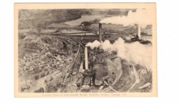 SUBBURY, Ontario, Canada, Aerial View Of International Nickel (Copper Cliff), Mining, Old WB PECO Postcard - Ontario