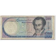 Billet, Venezuela, 500 Bolivares, 1990, 1990-05-31, KM:67d, B - Venezuela