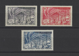 T.A.A.F. YT   N° 8/10  Neuf **  1957 - Unused Stamps