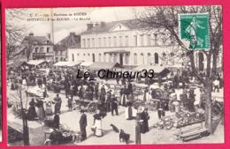76 - SOTTEVILLE LES ROUEN----Le Marché---animé - Sotteville Les Rouen