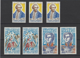 T.A.A.F. YT   N° 61-62-63  Neuf **  1976 - Unused Stamps