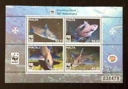 Malta 2011; WWF Animals & Fauna; Marine Life, Fishes; MNH / Neuf** / Postfrisch!! - W.W.F.