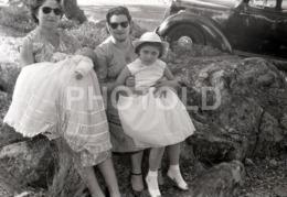 1957 BABY VAUXHALL CAR PORTUGAL AMATEUR 35mm ORIGINAL NEGATIVE Not PHOTO No FOTO - Photographica