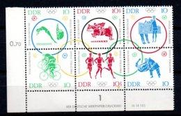 DDR  1039 - 1044  **  Postfrisch - Unused Stamps