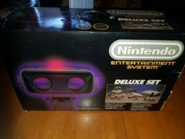 Nintendo Nes Pack Deluxe Set Avec Robot Complet - Console