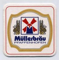 Sous-bock - Müllerbräu Pfaffenhofen - Bière Beer Birra Birrë Alus Pivo Bier Cerveza - Germany Deutschland Allemagne - Bierviltjes