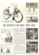 "PUB-REPORTAGE  ""  VELOSOLEX  ""  1961 ( 16 ) - Other"