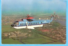 KLM Helikopters-PH-NZD-Sikorsky S-61N-Hélicoptère-Helikopter-Hubschrauber- - Hubschrauber