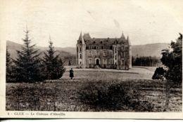 N°76582 -cpa Glux -le Château D'Aboville- - Otros Municipios