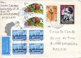 HONGRIE. N°3228 De 1989 Sur Enveloppe Ayant Circulé. Pentathlon. - Briefmarken
