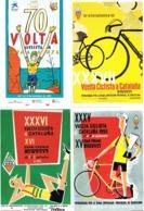 34635. Bonito Lote 16 Postales, Post Card VOLTA CICLISTA CATALUNYA, Barcelona (4 Imagenes) - Cycling