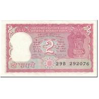 Billet, Inde, 2 Rupees, 1984-1985, Undated (1984-85), KM:53Aa, TTB - India