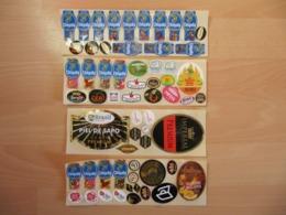 Lot De 83 étiquettes Fruits (Labels) - Fruit En Groenten