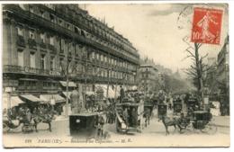 CPA - Carte Postale - France - Paris - Boulevard Des Capucines - 1913  (I10476) - Arrondissement: 09