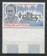 WALLIS FUTUNA 1981 N° 275 **  Neuf MNH Superbe C 2.30   Phonographe Thomas Edison - Wallis And Futuna