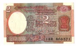 Billet 2 ROUPIES INDE - India