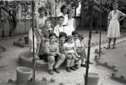 1957 BOYS GIRLS CHILDREN PORTUGAL AMATEUR 35mm ORIGINAL NEGATIVE Not PHOTO No FOTO - Photographica