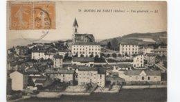 1923 Bourg-de-Thizy   Vue Générale - Ed LL 78 - France