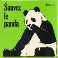 Autocollant SAUVEZ LE PANDA - Aufkleber