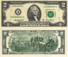 USA, 2 Dollars Commemorative, Reserve Bank Of Boston (A), P516b, 2003, UNC - Stati Uniti