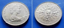 GREAT BRITAIN  25 New Pence 1980 UNC - 80th BIRTHDAY OF QUEEN MOTHER - 1971-… : Monedas Decimales