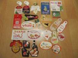 Lot De 23 étiquettes Cartonettes (Labels) - Frutta E Verdura