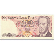 Billet, Pologne, 100 Zlotych, 1986, 1982-06-01, KM:143c, TTB - Poland