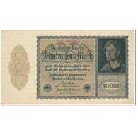 Billet, Allemagne, 10,000 Mark, 1922, 1922-01-19, KM:72, SPL - [ 3] 1918-1933: Weimarrepubliek