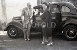 1957 FORD V8 AMERICAN CAR PORTUGAL AMATEUR 35mm ORIGINAL NEGATIVE Not PHOTO No FOTO - Photographica