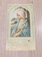 Santino Madonna In Ricordo Adunanze Delle Ancelle Di Maria Immacolata - Santini