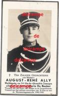 Oorlog Guerre August Ally Bachte Maria Leerne Rijkswacht Gendarmerie In Bevolen Dienst Gesneuveld Te Lovendegem 1946 - Images Religieuses