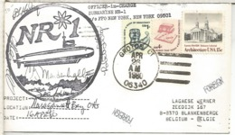 ESTADOS UNIDOS USA CC SUBMARINO NR 1 GROTON 1980 SUBMARINE NUCLEAR - Submarinos