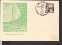 Sonderstempel Berlin Gartenbaukongress 1938 - Briefe U. Dokumente