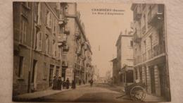CHAMBERY (SAVOIE) - La Rue D'Angleterre - Chambery