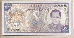 Bhutan - Banconota Non Circolata Da 10 Ngultrum P-22 - 2000 #18 - Bhutan