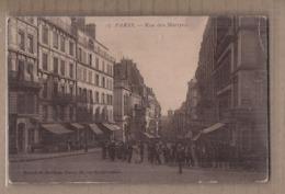 CPA 75 - PARIS - Rue Des Martyrs - TB PLAN TB ANIMATION Rue Centre Ville + TB Devantures Magasins - Paris (09)