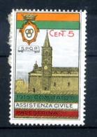 ERINNOFILIA /  1915 Comitato Di Assistenza Civile Palestrina - Erinnofilia