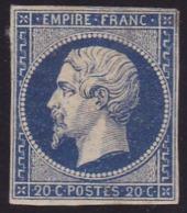 N° 14A  Neuf * - Voir Verso & Descriptif - - 1853-1860 Napoleon III