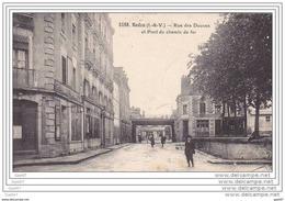 """Cpa  Réf Z0.757  (  Dép 35 )   à   REDON        """"""""   Rue Des Douves - Redon"""