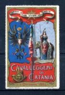 ERINNOFILIA /  Vecchi Erinnofili 1883 Cavalleggeri Di Catania - Erinnofilia